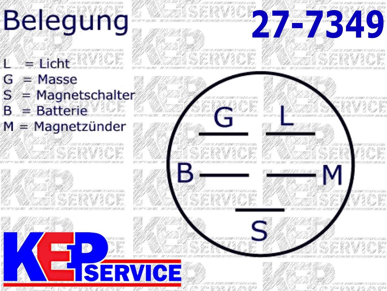Fantastisch Schaltplan Für Zündschalter Bilder - Der Schaltplan ...