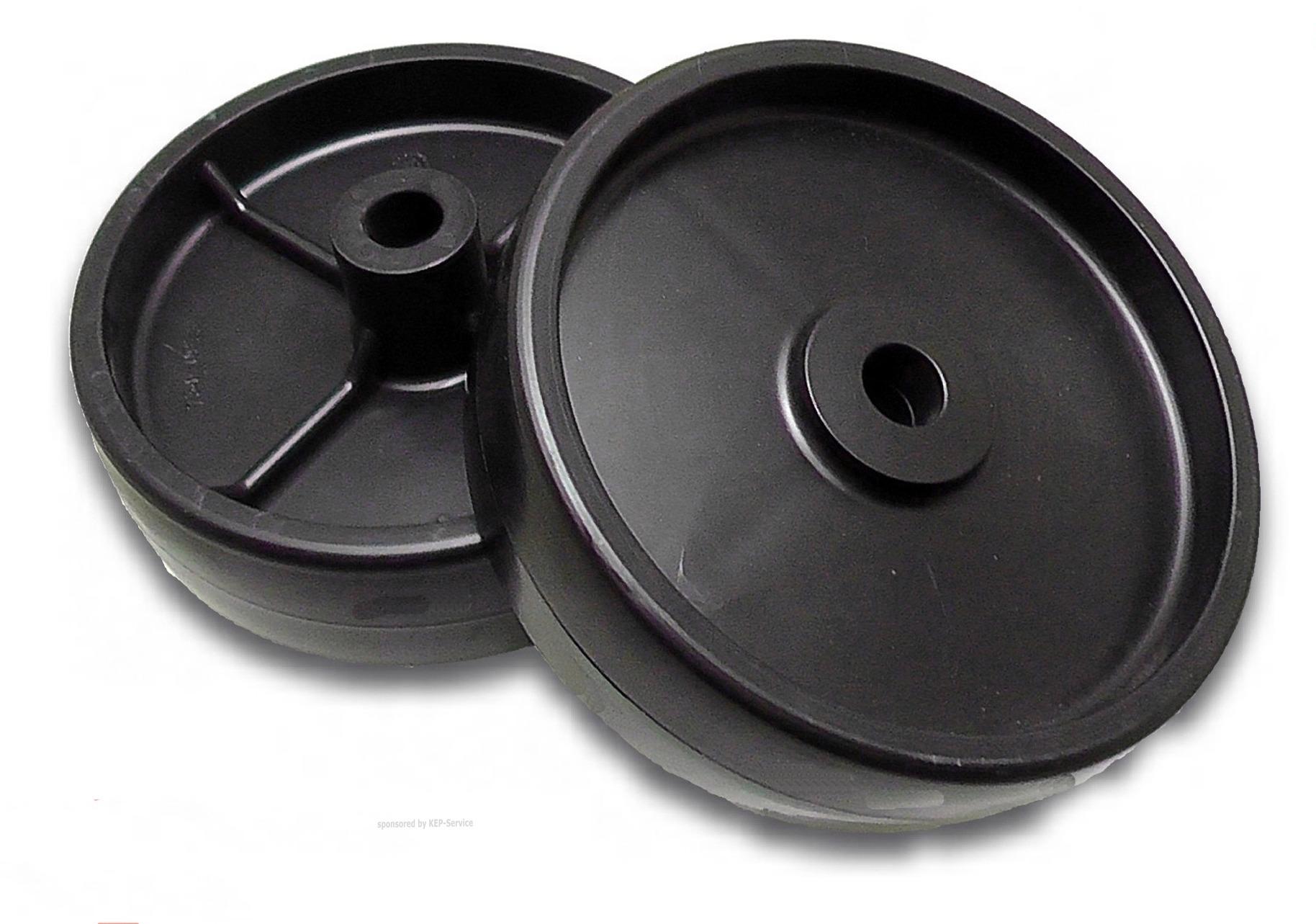 2 deckrad m hdeck laufrad rolle tastrad m hwerksrolle oleo. Black Bedroom Furniture Sets. Home Design Ideas