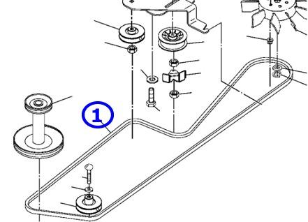 john deere lt160 belt diagram john deere l108 deck belt